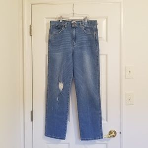 Wrangler Vintage Style Mom Blue Jean